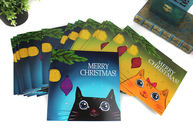 cat_christmas_cards_collection_1000
