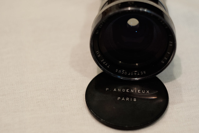 P.ANGENIEUX PARIS F.28 1:3.5 RETROFOCUS TYPE R11