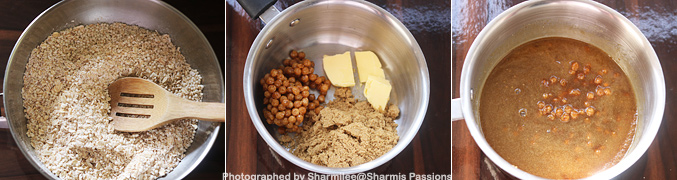 How to make Butterscotch Oats Bars Recipe - Step2