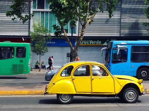 Citroën 2CV - Santiago, Chile