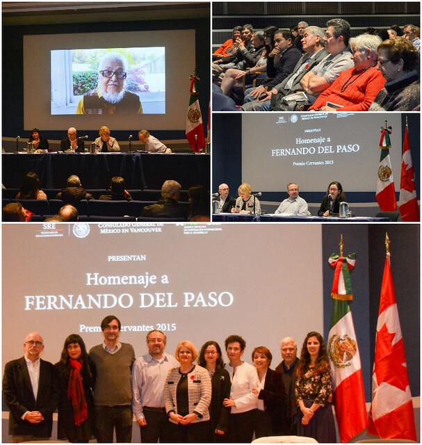Exitoso homenaje en Vancouver a Fernando del Paso