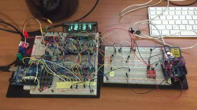 VFD Clock Alarm