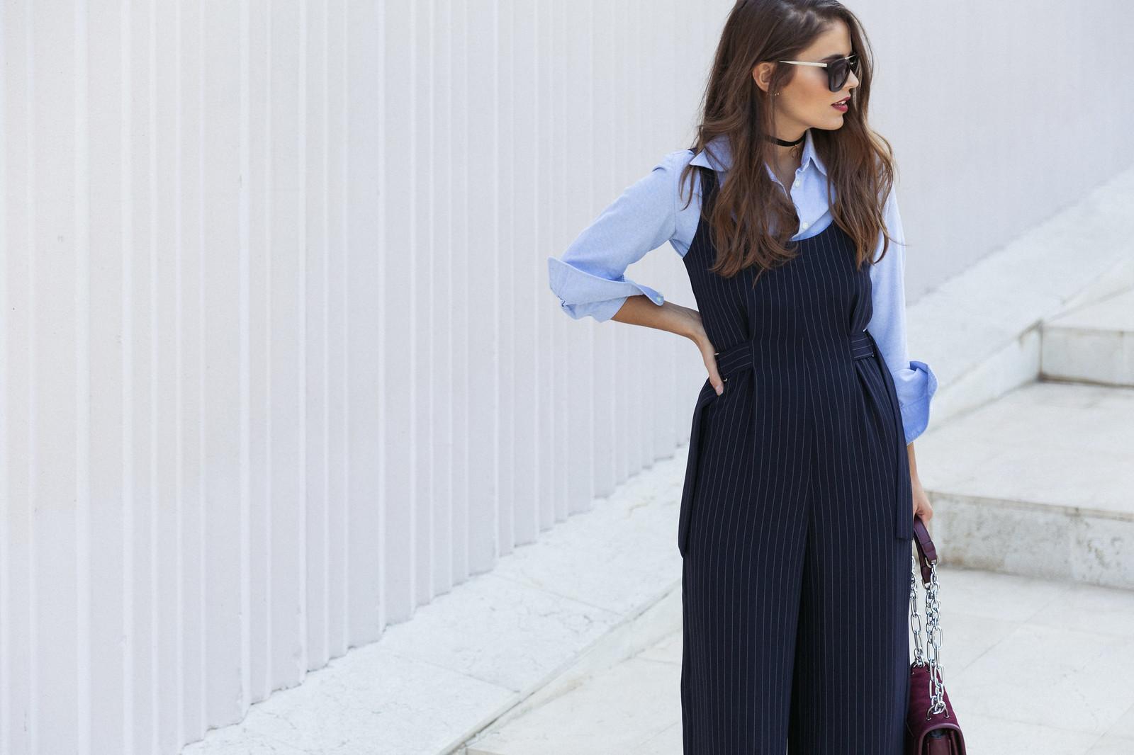 Jessie Chanes Seams for a desire - Pinstripped suit topshop heeled sandals schutz parfois bag  -2