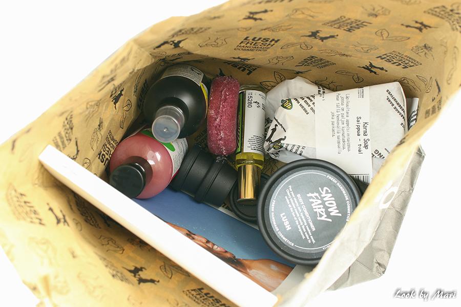 1 Lush shopping ostokset haul