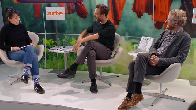 Katharina Borchardt, Daniël van der Meer en Daniel Beskos