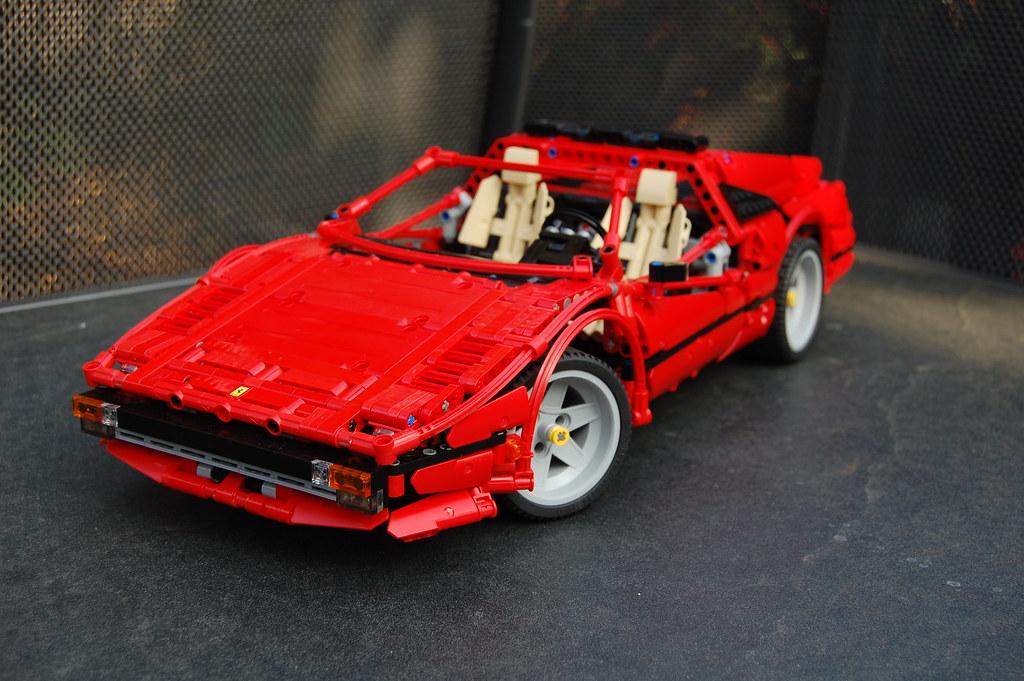 MOC] Ferrari 308 GTSi - LEGO Technic, Mindstorms & Model Team ...