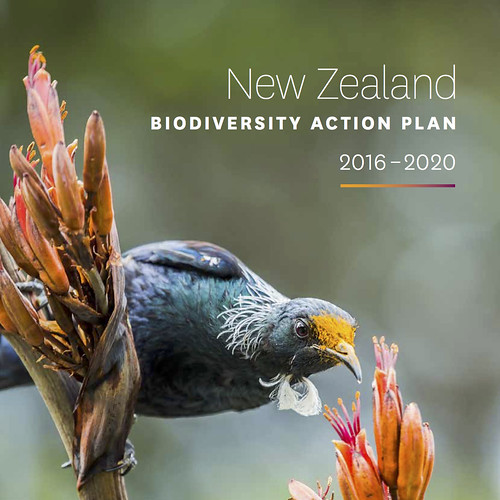 New Zealand Biodiversity Strategy and Action Plan 2016-2020