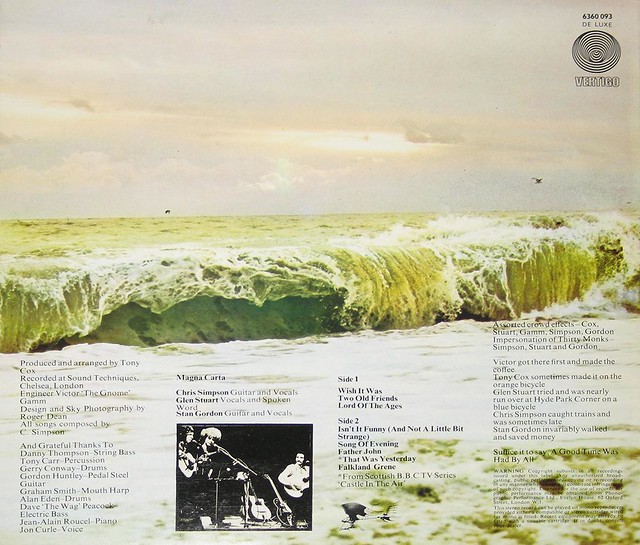 """MAGNA CARTA LORD OF THE AGES 12"""" LP Vinyl Stereo Gramophone Record"""