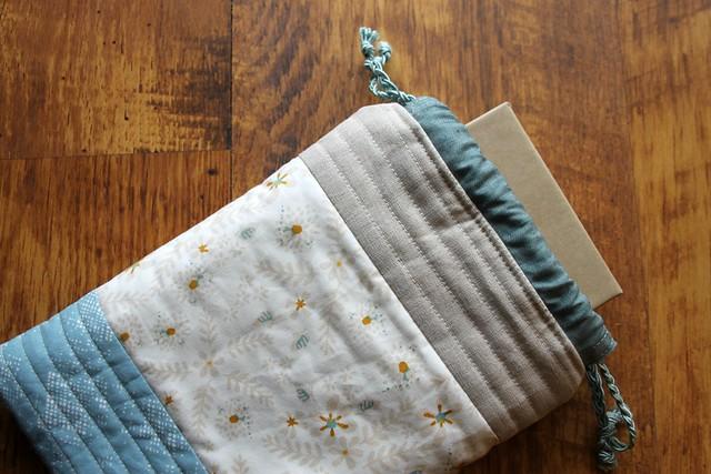 Reusable Drawstring Gift Bag in Garder Dreamer