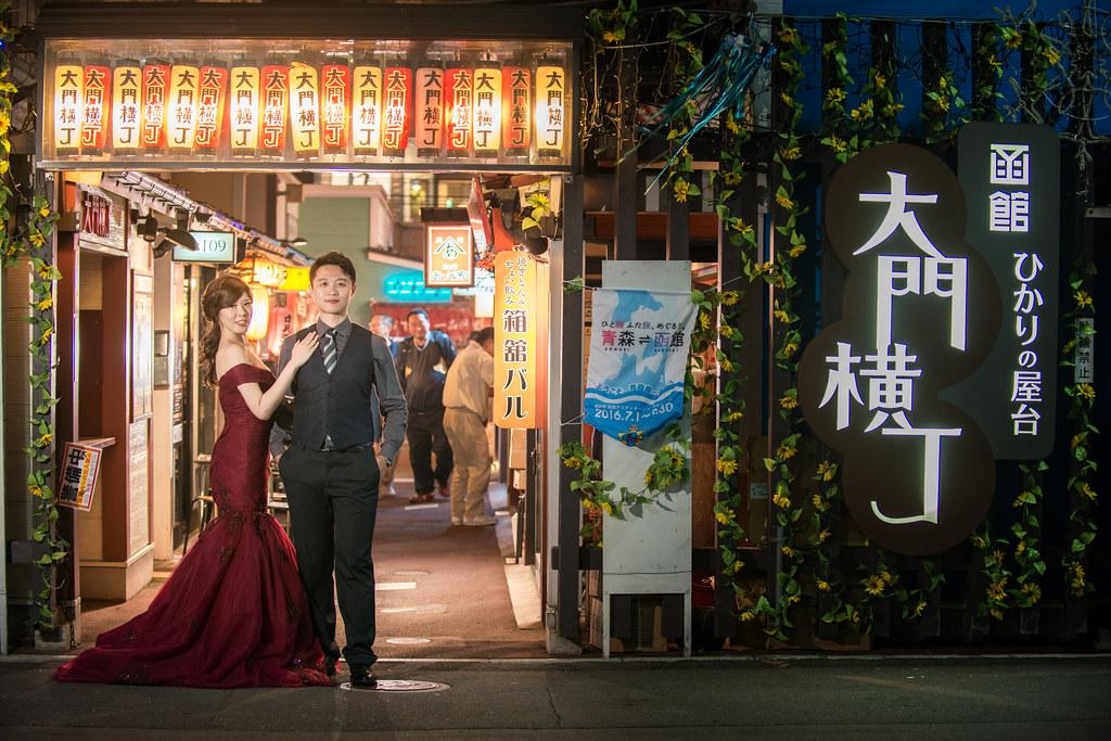 函館大門橫丁婚紗