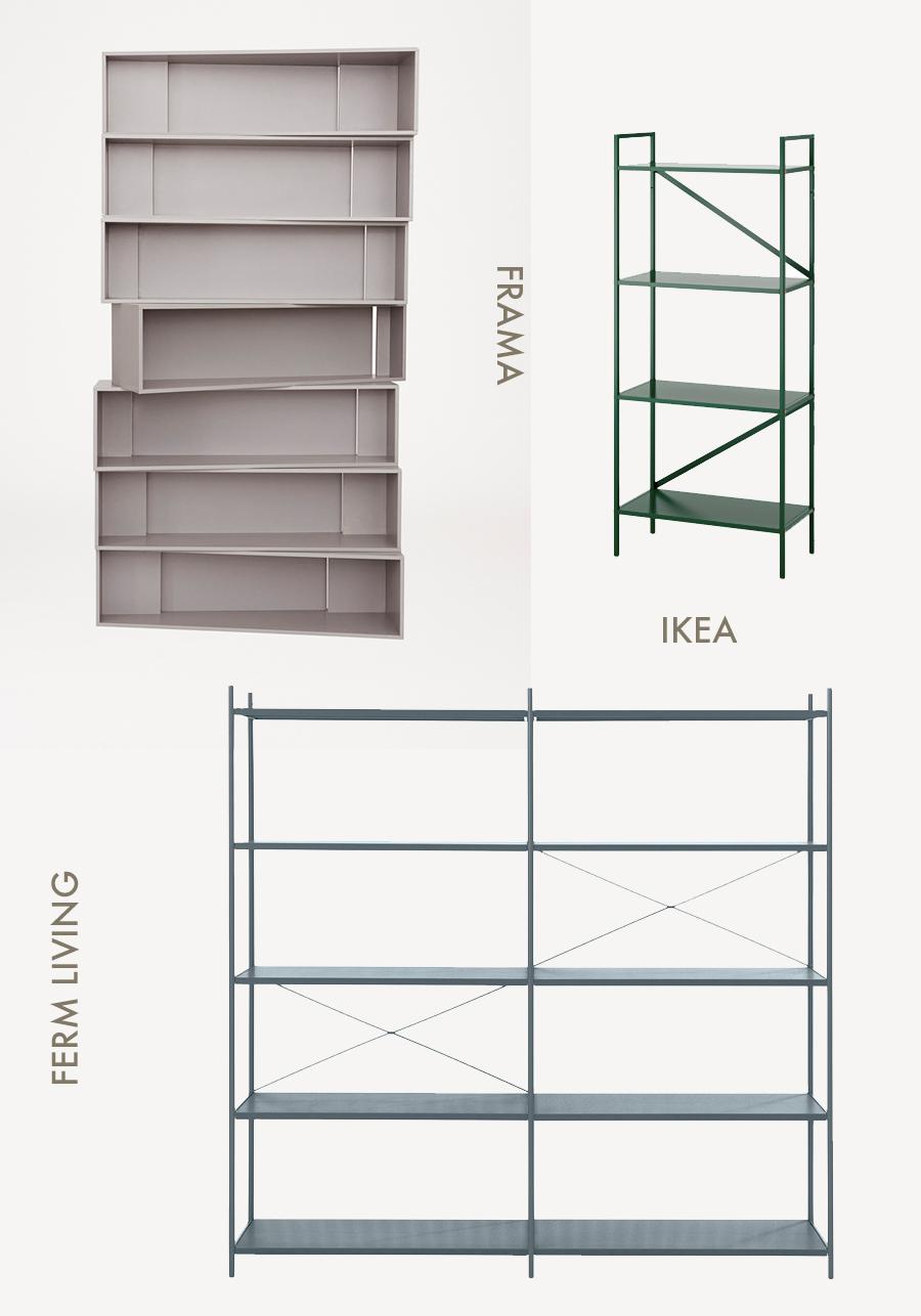 Amm blog 4 minimal shelving systems for Ikea draget