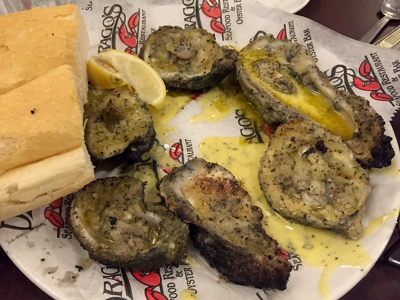 Oysters at Drago's in New Orleans