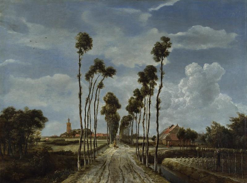 Meindert Hobbema - The Avenue at Middelharnis