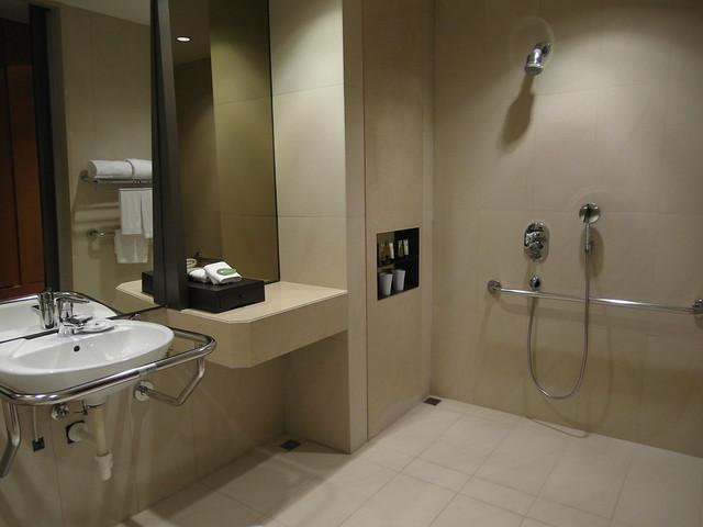 愛心房的浴廁@台中日月千禧酒店