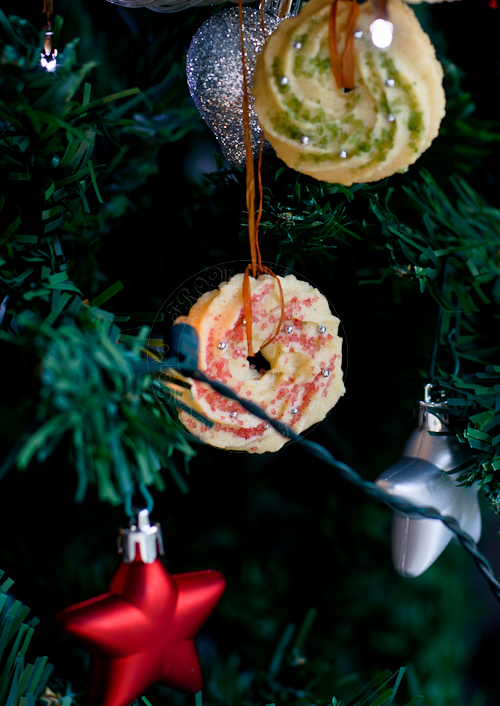 Spritzen Christmas cookies