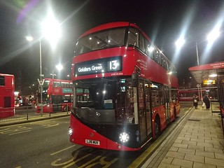 *NEW* RATP London Sovereign: VHR45203 | LJ16MUV || 13: Aldwych - Golders Green