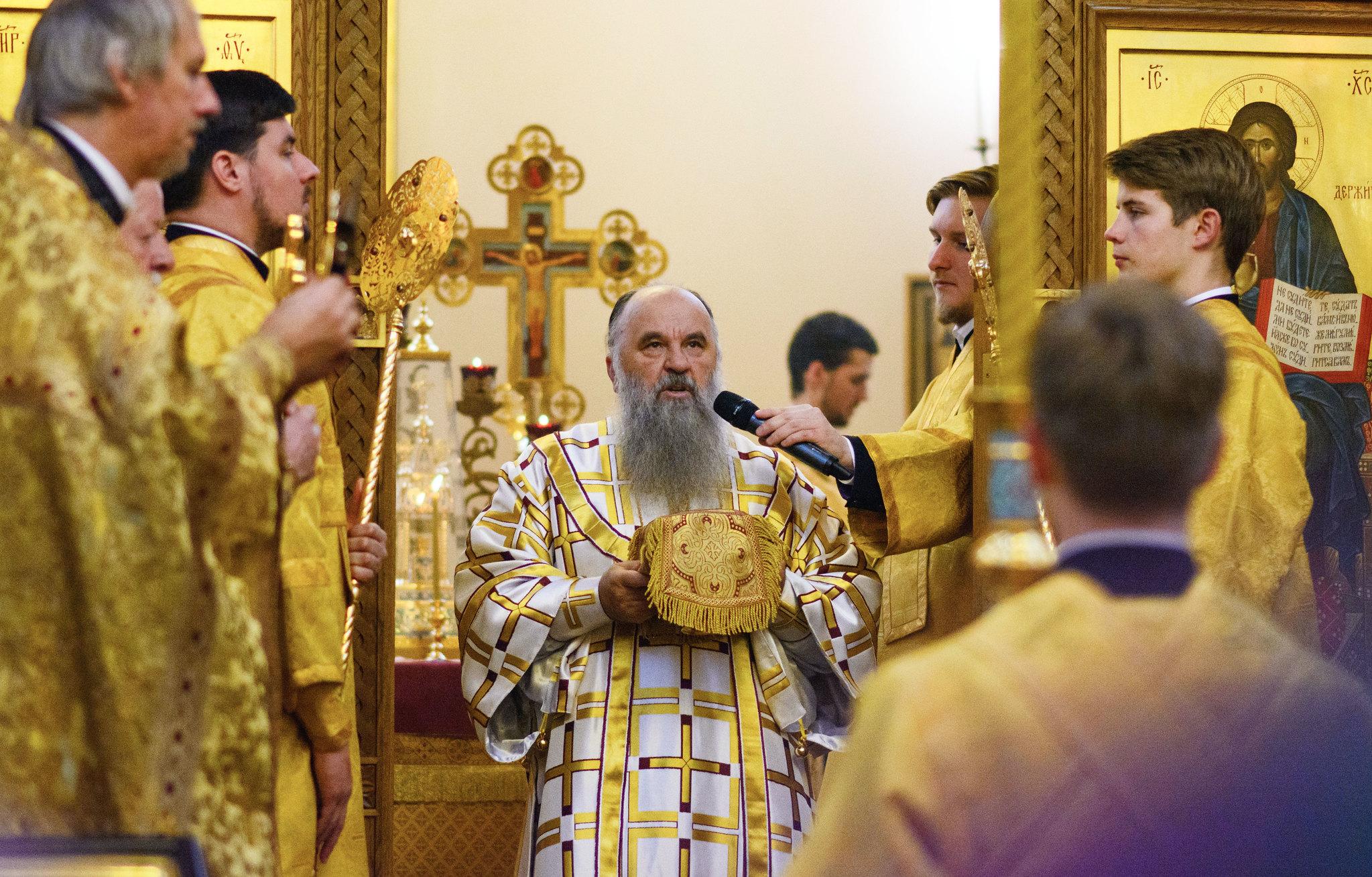 Освящение храма 18.10. Ирина Шестакова