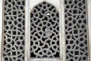 Delhi - Humayuns Tomb latticed window