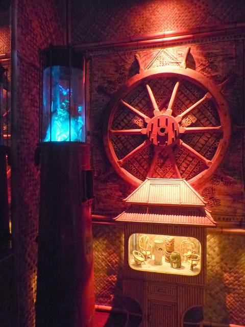 Bahooka relics at Pacific Seas