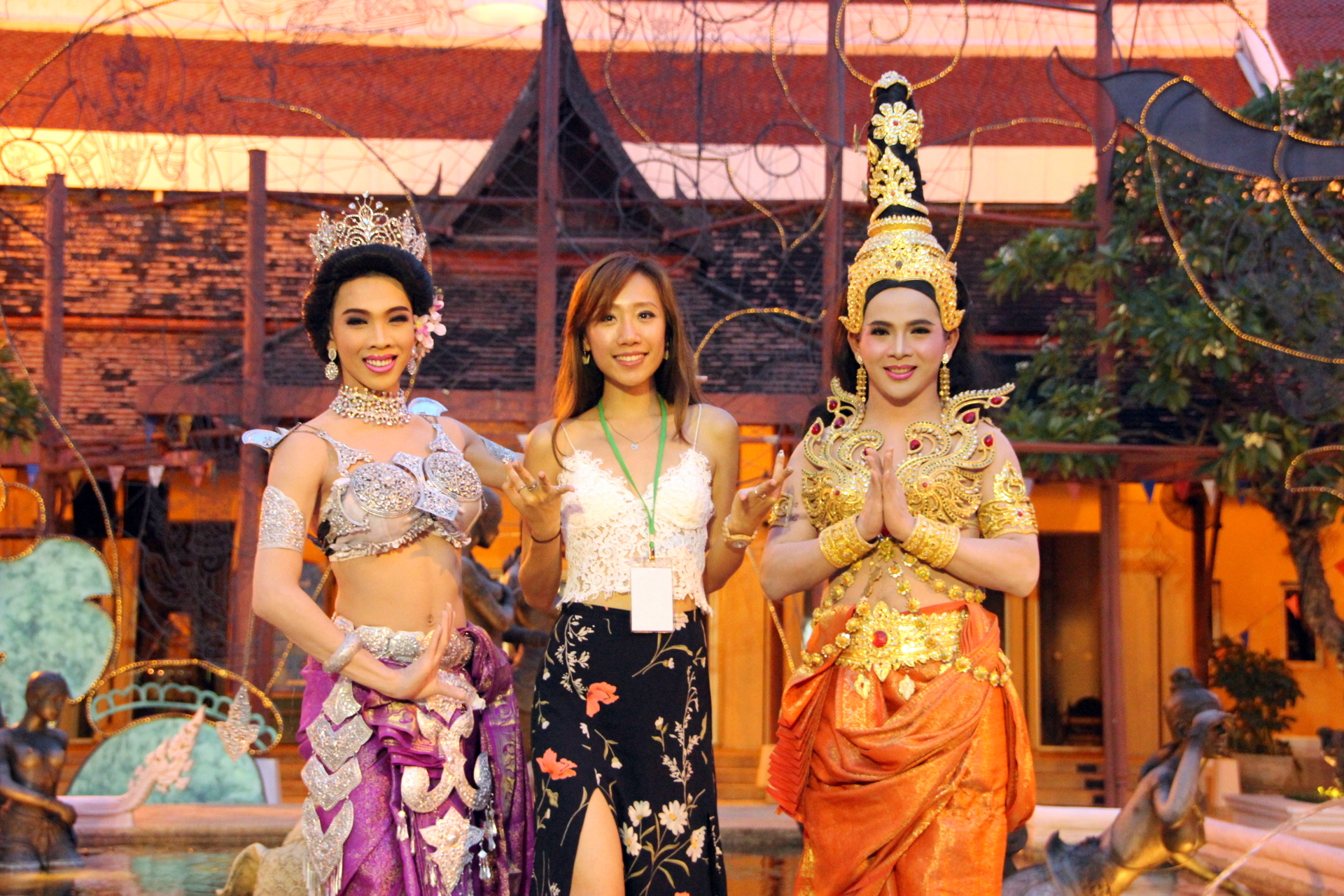 Siam Niramit stage