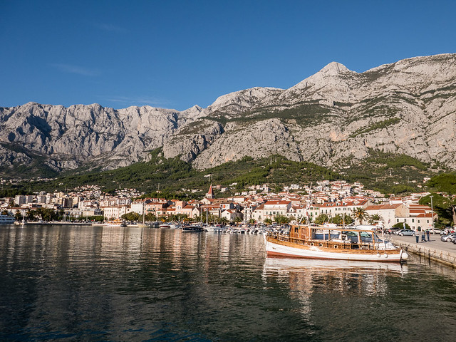 Makarska harbor