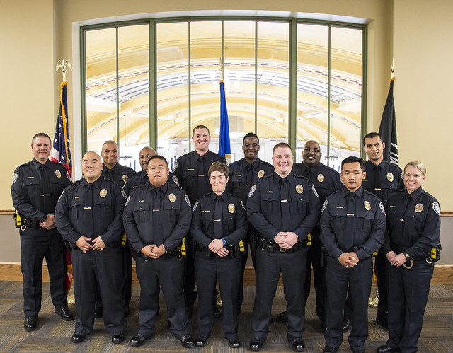 Metro Transit Police Department graduation fall 2016
