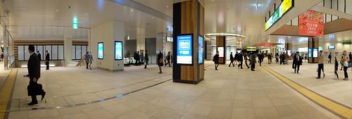 JR Chiba Station refurbishment 2016-11