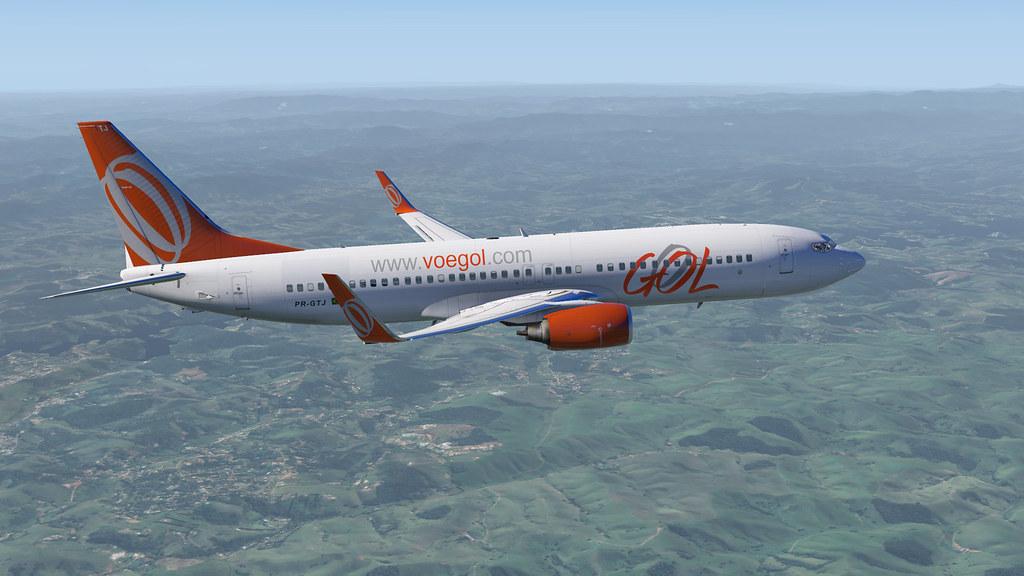 737-800 GOL X-plane 11 30955568620_2239df55a3_b