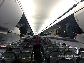 LATAM nuevos overhead bins A321 A320neo (LATAM)