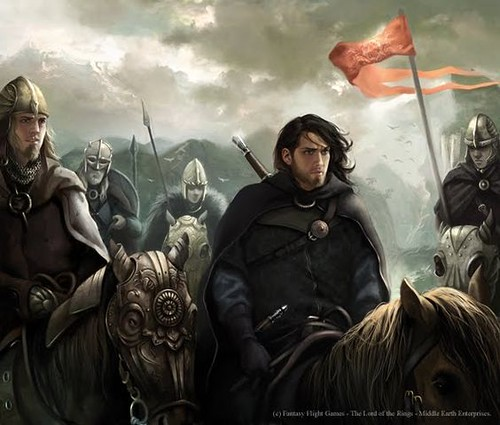 Aragorn and rochirrim