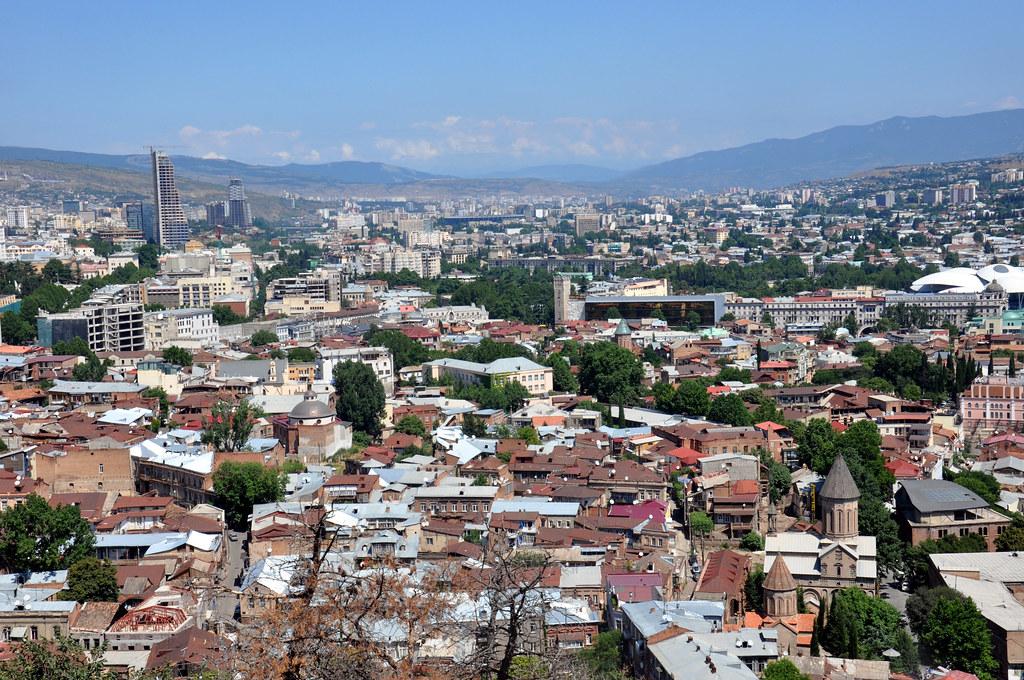 49 панорамный вид Тбилиси