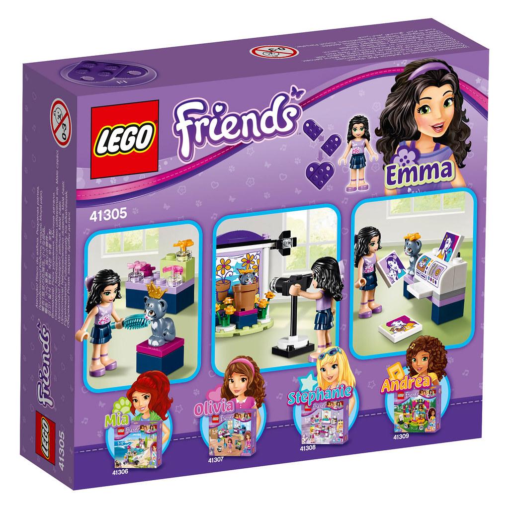 LEGO Friends Emma's Photo Studio (41305)