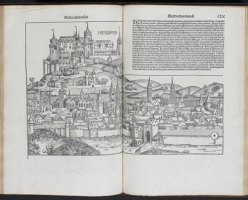 Schedel, Hartmann: Liber chronicarum -Woodcut