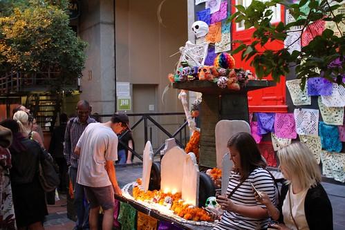 Conmemoración de Día de Muertos en Sudáfrica