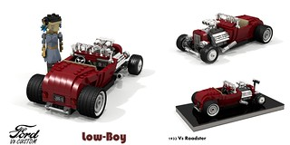 Ford 1932 Custom V8 Roadster - Low-Boy