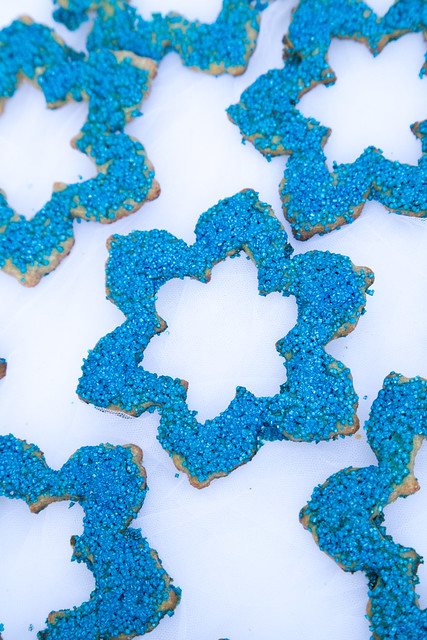 Snowflake Danish Salted Butter Cookies