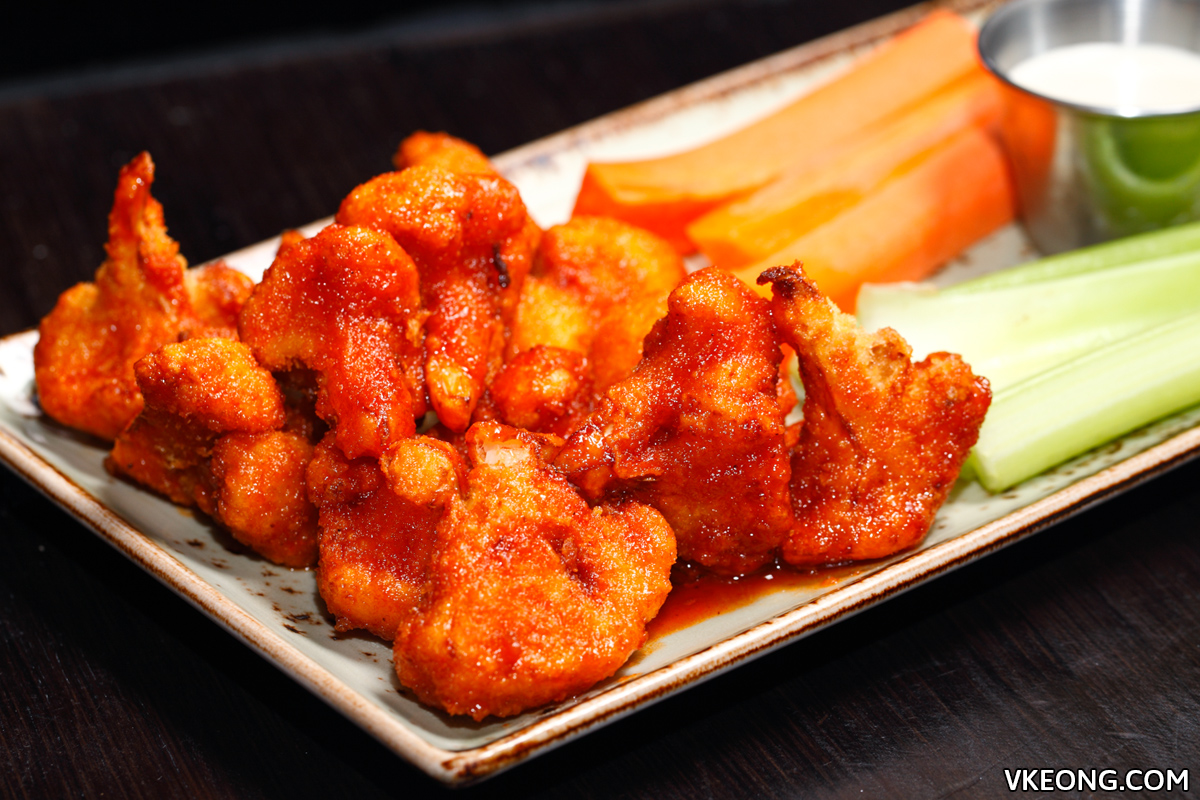 Hard Rock Cafe KL Cauliflower Wings