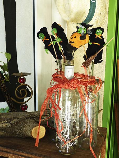sorcières en bouteilles