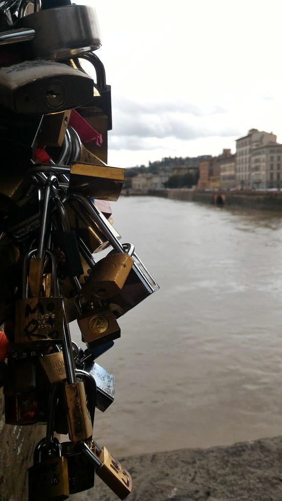 Lucchetti a Firenze - Ponte Vecchio