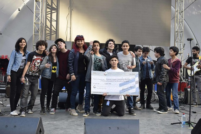 Gran final Tercer festival estudiantil de bandas y voz