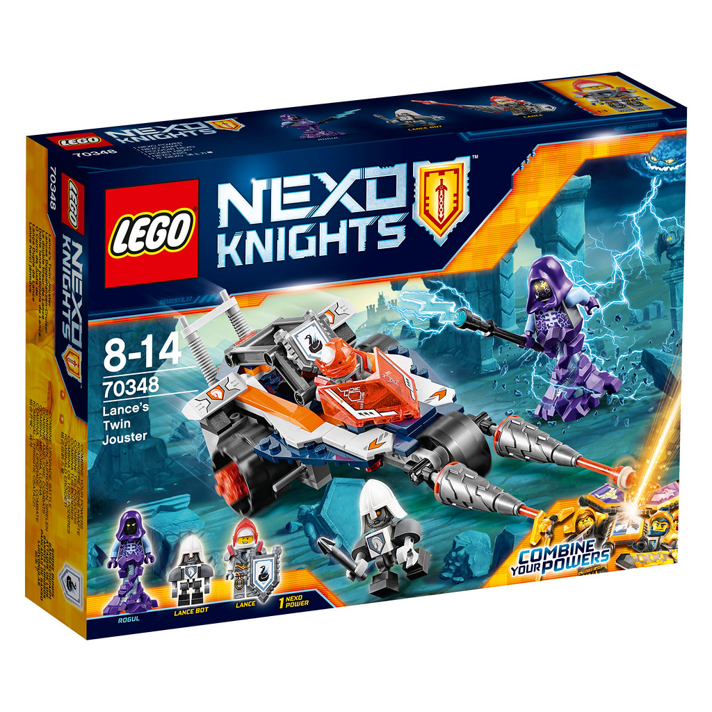 LEGO Nexo Knights 70348 - Lance's Twin Jouster