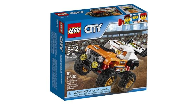 LEGO City Stunt Truck (60146)
