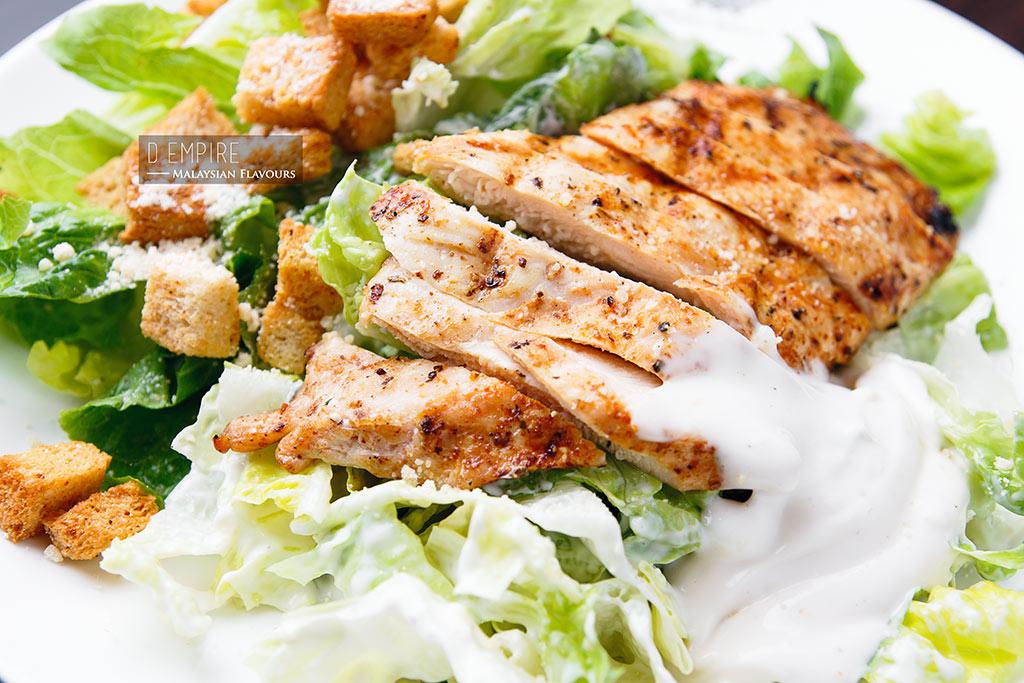 D Empire European Cuisine caesar salad