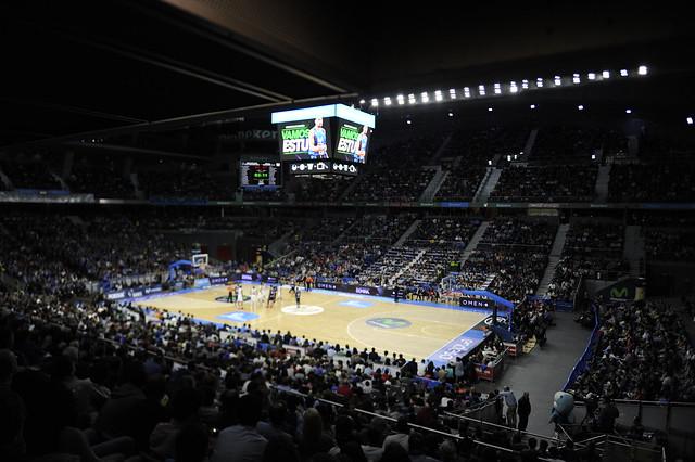 La grada del Movistar Estudiantes- Real Madrid