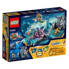 LEGO Nexo Knights 70349 Ruina's Lock & Roller 2