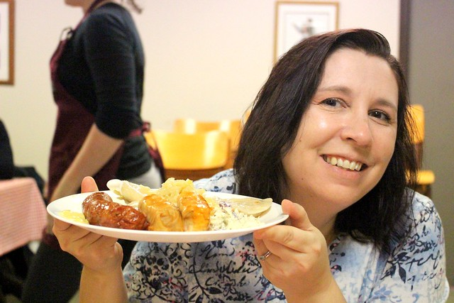 Perogy Lunch at the AUUC Strathcona Ukrainian Hall