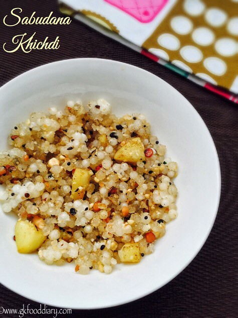 Sabudana Khichdi for baby