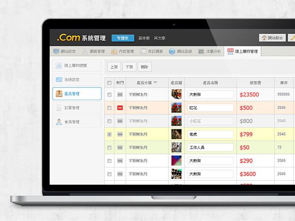 .Com system manage