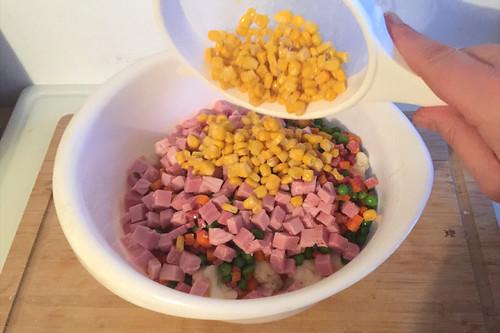 43 - Mais hinzufügen / Add corn