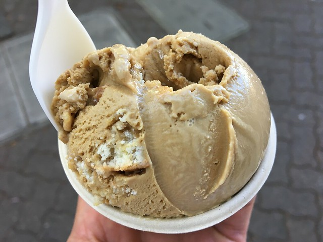Coffee and donut ice cream - Noble Folk Ice Cream & Pie Bar